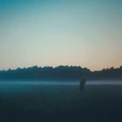 Morgennebel und Sonnenaufgang in Brandenburg